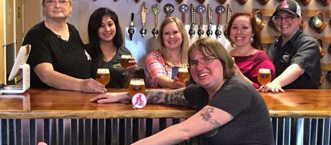 Tennessee Valley Brewing Company's Pink Boots Ladies. All these wonderful women assisted us in…